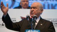 MHP lideri Bahçeli: 'Fırat'ın doğusuna tam saha operasyon hayat memat meselesi'