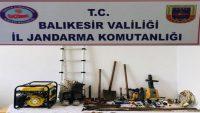Marmara'da kaçak kazı yapanlar suçüstü yakalandı