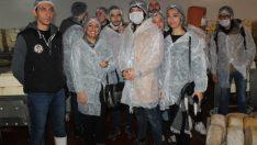 MYO öğrencileri süt ürünleri yapımının inceliklerini öğrendi