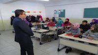 Havran'da proje sınıfları dikkat çekti