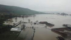 Pirincin başkentinde ova sular altında kaldı