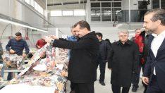 Başkan Yılmaz, Bigadiç'te tekstilcilerle buluştu