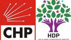 HDP eş genel başkanı CHP'ye oy topluyor