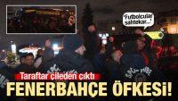 Fenerbahçe taraftarını zor zapt ettiler!