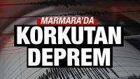Balıkesir'de de hissedildi Marmara'da 4.1 büyüklüğünde deprem!