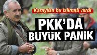 PKK'da büyük korku! Karayılan telsizden duyurdu