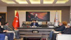 Muhtarlar Başkan Avcı'yı ziyaret etti