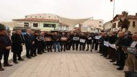 Sındırgı Yemen'e sessiz kalmadı