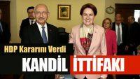 HDP'DEN CHP VE İYİ PARTİ'YE DESTEK