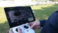 drone ile trafik denetimi yapıldı