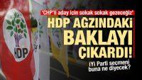HDP: İzmir'de Tunç Soyer için mahalle mahalle gezeceğiz