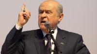 MHP Lideri Bahçeli : Türkiye'de Kürdistan diye bir yer yoktur!