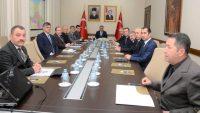 Vali Yazıcı Seçim Güvenliği Toplantısı Yaptı