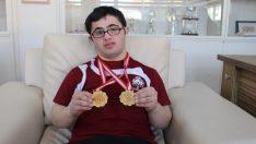Down sendromlu Adem şampiyonluğa koştu