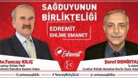"""'EDREMİT'İ MARKA ŞEHİR YAPACAĞIZ"""""""