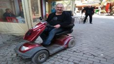 Engelli vatandaş muhtar adayı oldu