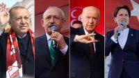 Liderler yerel seçim için yoğun mesai harcadı
