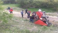 epsut yolundaki kazada iki kişi yaralandı