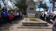 Kurtdereli Mehmet Pehlivan mezarı başında anıldI
