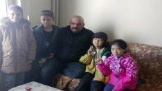 Yabancı öğrenciler ailelere konuk oldu