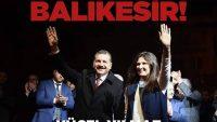 BALIKESİR'İN YENİ BAŞKANI YÜCEL YILMAZ