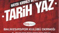 ŞEHRİMİZİN GÖZ BEBEĞİ BALIKESİRSPOR'UMUZA DESTEK OLALIM!..