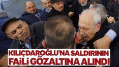 Kılıçdaroğlu'na saldırının faili gözaltına alındı