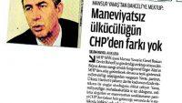 Devşirilmiş kişilerin Pkk destekli CHP serüveni!