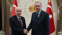 """Cumhurbaşkanı Erdoğan'dan Bahçeli'ye """"Türkeş"""" telefonu"""