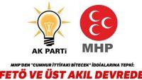 MHP'den tepki: FETÖ ve üst akıl devrede