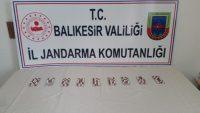 Balıkesir'de uyuşturucu operasyonları: 7 gözaltı