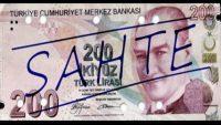 Taksi şoförüne sahte 200 lira verenleri polis arıyor