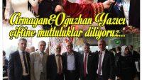 Balıkesir Valisi Ersin Yazıcı, oğlunu evlendirdi.