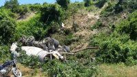 Beton mikseri uçuruma yuvarlandı: 1 kişi yaralandı