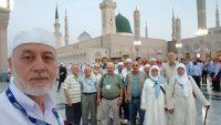 EDREMİT'Lİ HACI ADAYLARI Medine-i Münevvere'de..