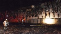 Ünlü iş adamının damadının fabrikası yandı