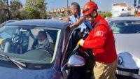Ayvalık'ta trafik kazası; 5 yaralı