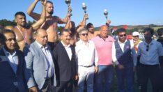 Yağlı Pehlivan Güreşlerinde Hüseyin Gümüşalan 1.oldu.