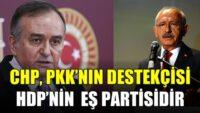 CHP, PKK'nın destekçisi HDP'nin eş partisidir