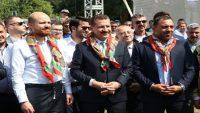 Kurtdere güreşlerinde Bilal Erdoğan sürprizi