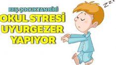 Okul stresi uyurgezer yapıyor