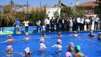 Büyükşehir 15 Bin Çocuğa Yüzme Eğitimi Verdi
