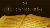 Kur'an-ı kerimi öğrenmek ve okumak