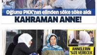 Türk ordusu dağda PKK'ya; analar, şehirde HDP'ye pençe atıyor!