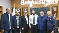 GAZETECİLER'DEN BALKES'E ZİYARET