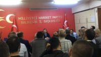 Balıkesir MHP'de Görev Dağılımı Yapıldı