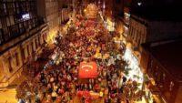 Balıkesir'de Binler Barış Pınarı Harekatı için yürüdü