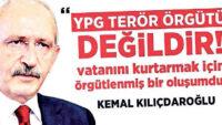 Suriye'de barışı, terör örgütü YPG ile arayan CHP!