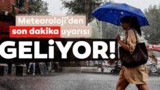YAĞIŞ GELİYOR!..