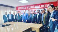MHP KARESİ'DE DEVİR TESLİM..